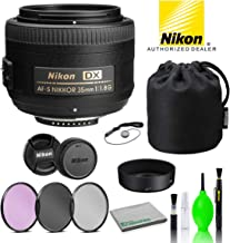 Nikon AF-S DX NIKKOR 35mm f/1.8G Lens USA (2183) with...