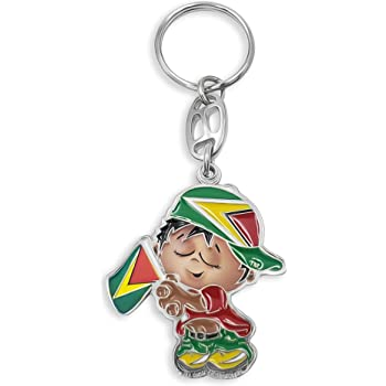 flagsandsouvenirs Keychain Saint Kitts and Nevis Flag Baby