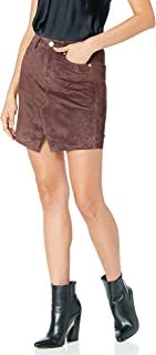 [BLANKNYC] Women's Real Suede Mini Skirt Skirt