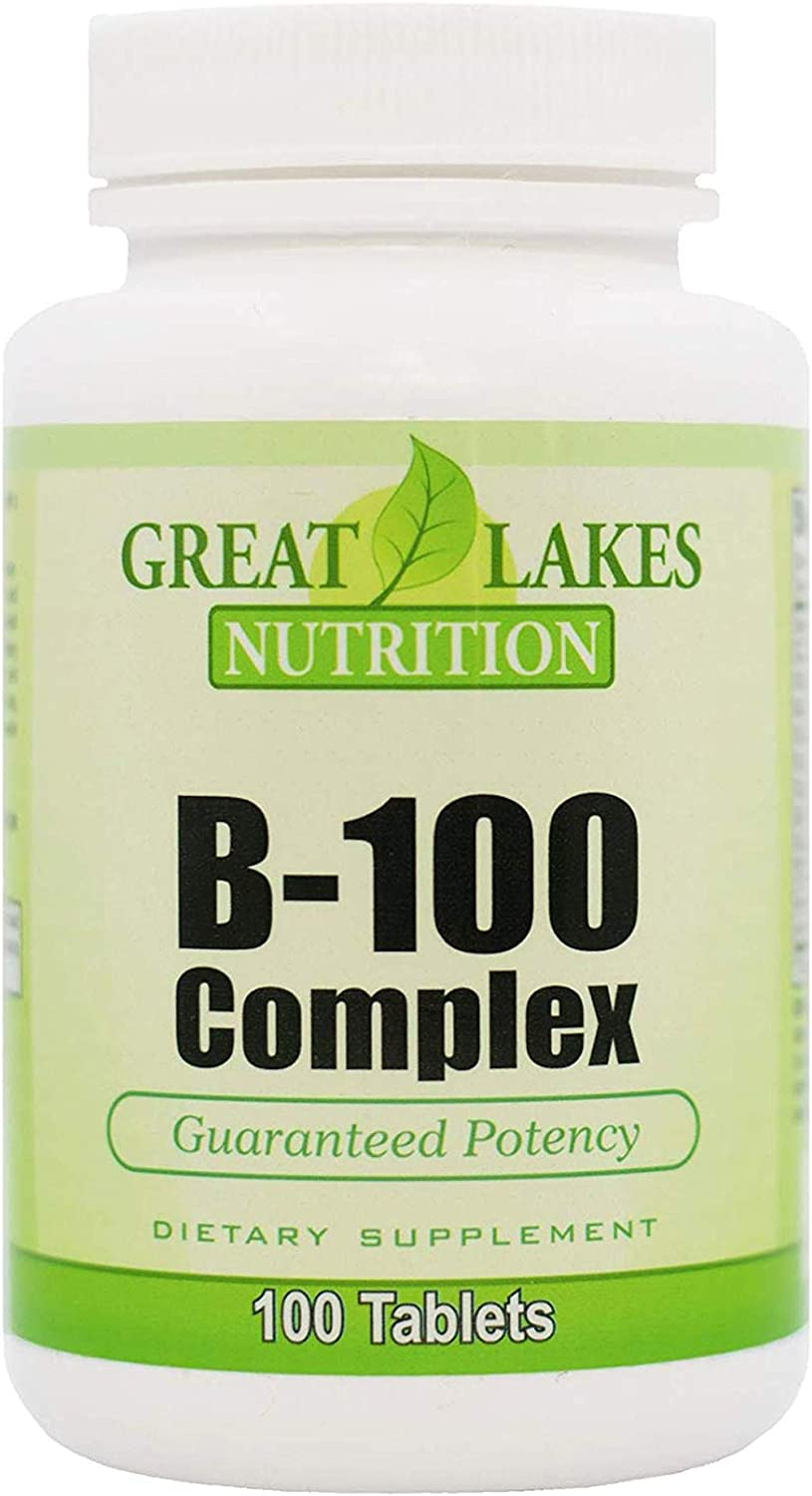 Great Lakes Direct stock discount Limited time trial price Nutrition Vegan Vitamin Dietary Supple B-100 Complex