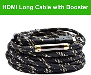 Million High Speed Prime Long HDMI Cable 150 Feet with Ethernet Built in Signal Booster-Supports 3D,1080p,-for in-Wall Ins...