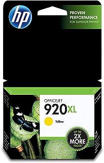 HP 920XL | Ink Cartridge | Yellow | CD974AN
