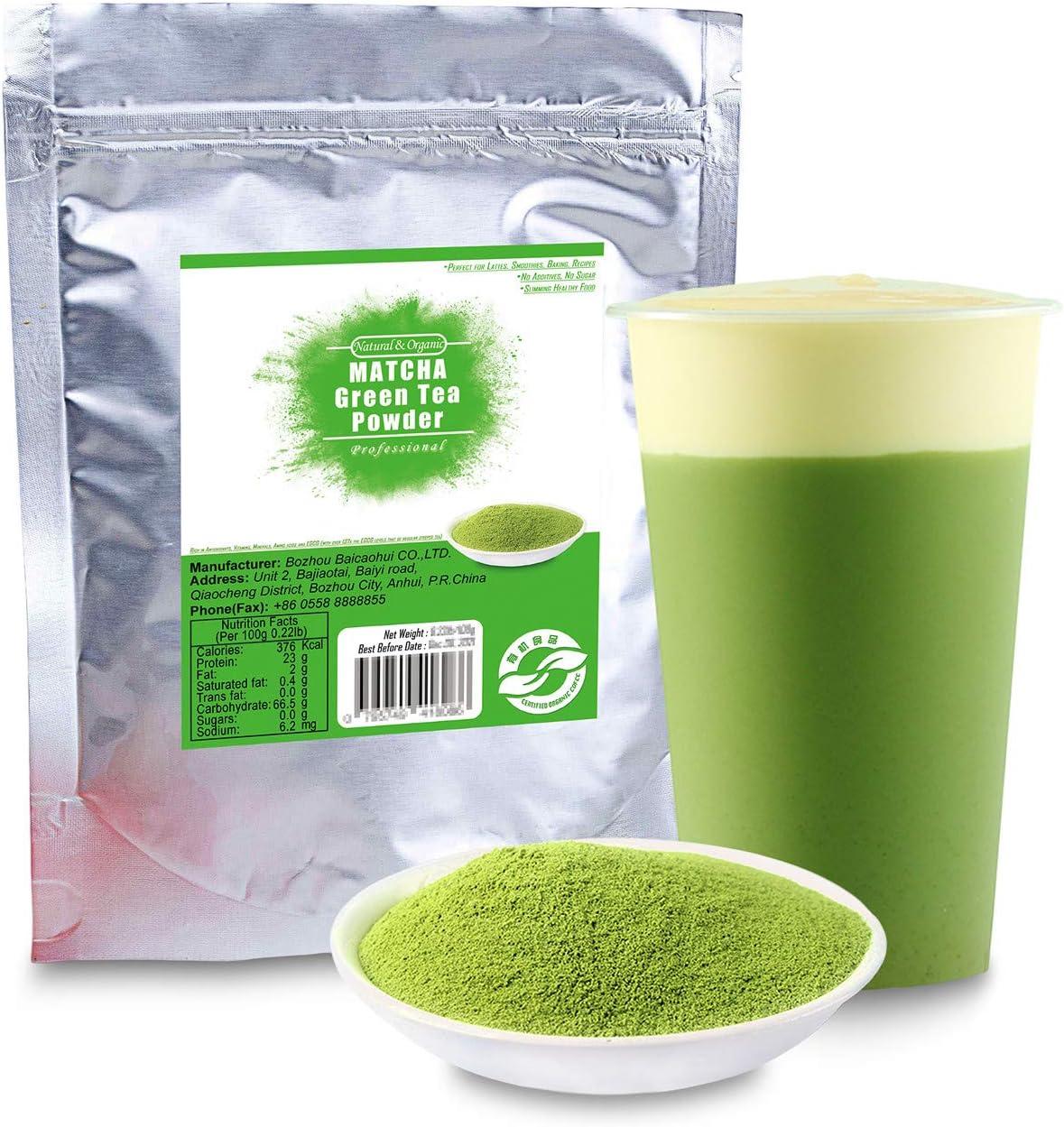 XJhoma 40% OFF Cheap Sale China 100% Natural Organic Green Health Tea Matcha Powder Inventory cleanup selling sale