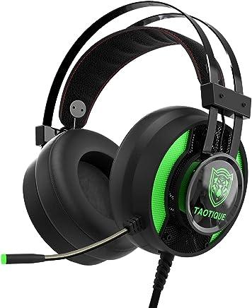 JINDUN Cuffie da Gaming per Console Jack 3.5mm per Xbox One PS4,LED Lighting PC Cuffie Auricolari con Rimozione del Rumore Cuffie da Gaming con Suono Stereo e Controllo per Il Volume del Microfono - Trova i prezzi più bassi