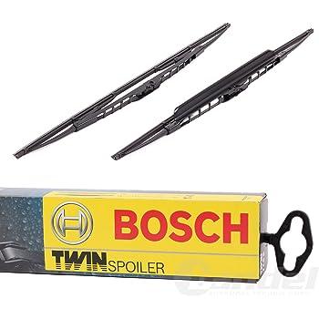 Bosch Scheibenwischer TWIN für AUDI S6 4A2;C4 Vorne Spoiler 550S