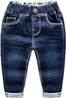 Hhckhxww Ropa para NiñOs, Pantalones para NiñOs, Jeans Rotos para NiñOs, Pantalones para Primavera Y OtoñO