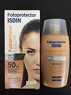 ISDIN FOTOPROTECTOR FUSION WATER COLOR SPF50+ 50 ml OIL FREE VELVET TOUCH SKIN BEAUTY
