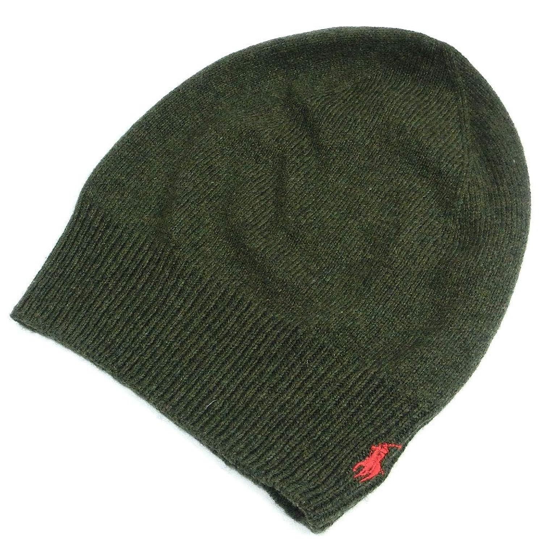 [ポロ ラルフローレン] ニット帽 メンズ レディース ラルフ 帽子 ニットキャップ ビーニー ビッグポニー pp0088-352 [並行輸入品]