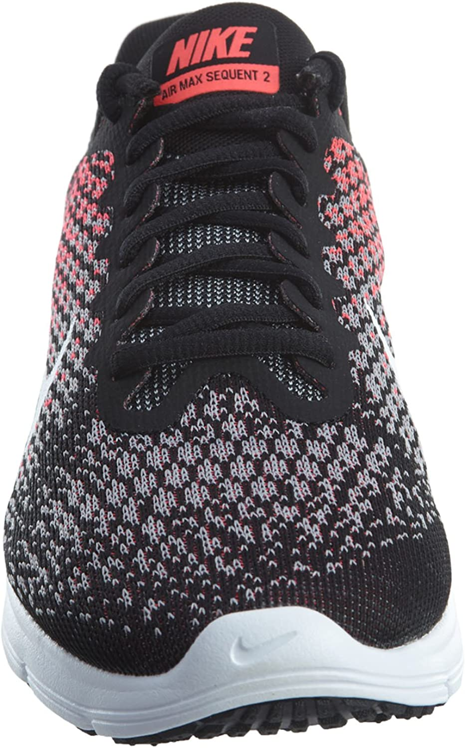 Amazon.com | Nike Womens Air Max Sequent 2 Running Shoes Black ...