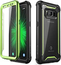 i-Blason Case Designed for Samsung Galaxy S8 Active 2017 Release, [Ares] Full-Body Rugged Clear Bumper Case with Built-in Screen Protector (Not Fit Regular Galaxy S8/S8 Plus) (Emerald)