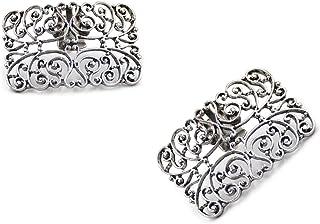 YNuth 2 Piezas de Clips Decorativos de Metal para Zapatos del Diseño de Tótem del Estilo Retro