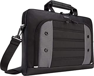 Targus Drifter Slipcase Shockproof, Weather-Resistant with Strap for 15.6-Inch Laptop, Black (TSS874)