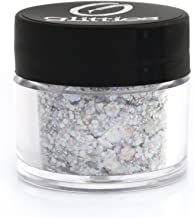 GLITTIES - Icing - Holographic & Matte Chunky Mixed Glitter ✶ COSMETIC GRADE ✶ Festival Body Glitter, Makeup, Face, Hair, Lips, Nails - (10 Gram)