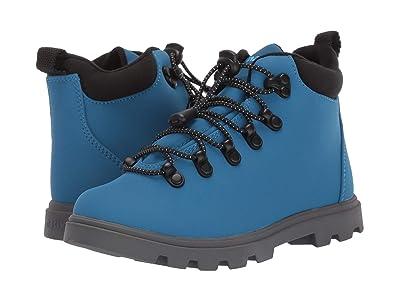 Native Kids Shoes Fitzsimmons Treklite (Little Kid) (Storm Blue/Dublin Grey) Boy