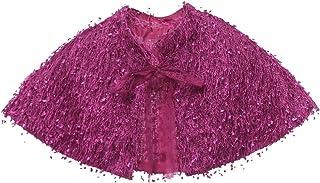 CHD子供ケープ レース 子供ドレス 女児 ポンチョ ボレロ キッズ ジュニア 女の子 子供フォーマル 卒業式 入学式 結婚式 発表会 5色