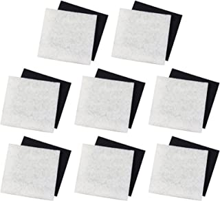 PONDMASTER (8) 1000 & 2000 Carbon & Course Poly Pad Replacement Filters | 12202