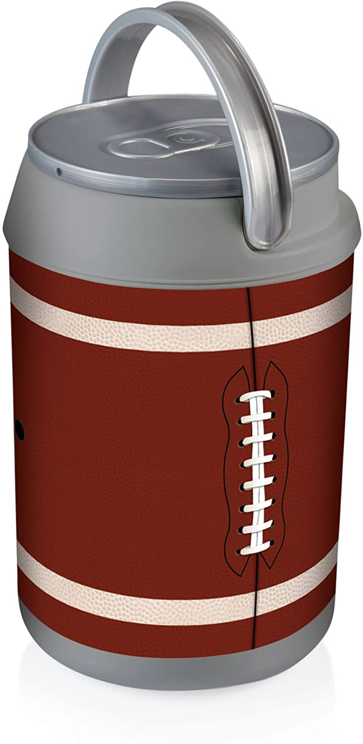 Picnic Time Insulated Can Cooler, Football