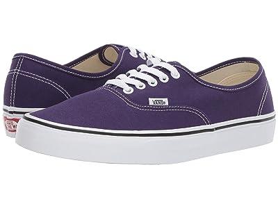 Vans Authentictm (Violet Indigo/True White) Skate Shoes