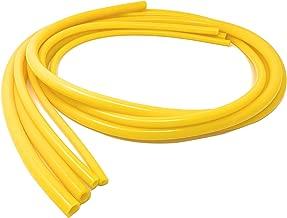 Universal 4mm/6mm/8mm/10mm Inner Diameter High Performance Automotive Silicone Vacuum Tubing Hose line Kit (Yellow)