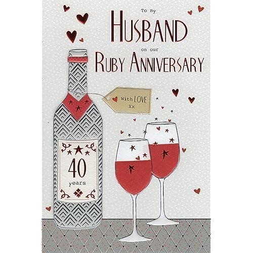 Wedding Gifts For Husband: Ruby Wedding Gifts For Husband: Amazon.co.uk