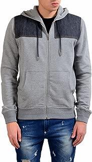 Christian Men's Gray Fleece Full Zip Hoodie Size US M IT 50