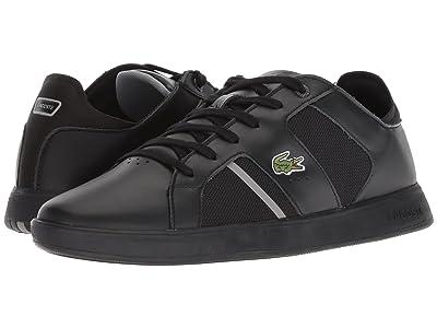 Lacoste Novas 318 2 (Black/Grey) Men