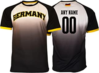 Pana Germany Soccer Jersey Flag German Adult Training World Cup Custom Name and Number