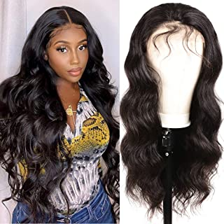Body Wave lace Frontal Wigs Human Hair for Black Women Brazilian Virgin Hair Wavy Wave 13x4 Lace Human Hair Wig Pre Plucke...