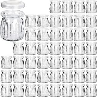 Best 6 oz glass jars with lids Reviews