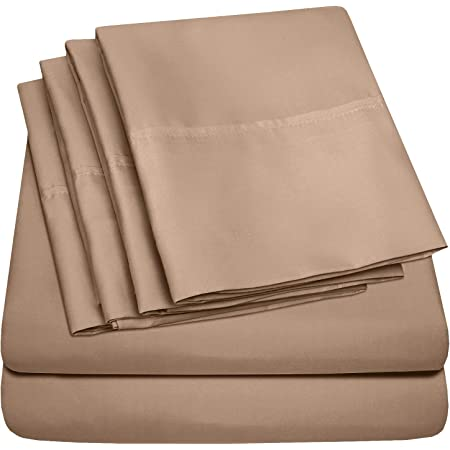 1800 Series Super Soft Chamberlain Solid Pleated Sheet Set