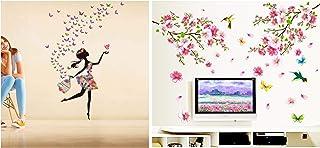 Decals Design Polyvinyl Chloride, Vinyl Flowers Wall Sticker