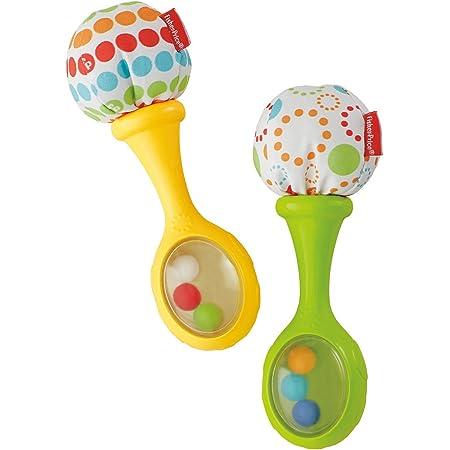 2 Pack HUADADA Greifling zum Rasseln,Cartoon Tier Rassel Kleinkind Spielzeug weiche Flock Stoff mit Klingel Glocke f/ür Babys und Kleinkinder ab 3 6 9 12 Monaten.