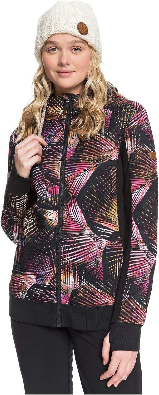 Roxy Women's Frost Printed Zip Up Fleece