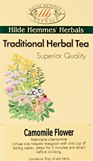 Hilde Hemmes Traditional Camomile Flower Herbal Tea 50 g, 50 g