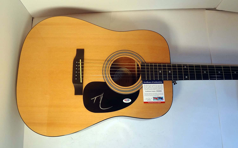 Tim McGraw Signed Autograph Epiphone Guitar DNA COA Acoustic PSA Cheap Lowest price challenge bargain