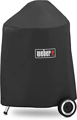 Weber 7148 Grill Cover with Storage Bag for Weber 18-Inch Charcoal Grills, 18-Inch,beige