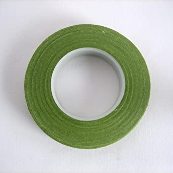フローラテープ ライト・グリーン 幅12.5mm×長さ27m