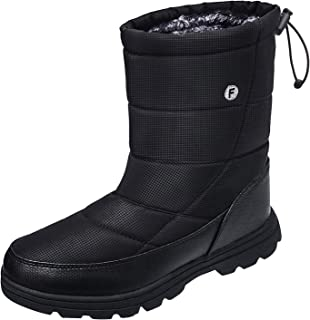 easy slip on snow boots