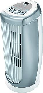 Bionaire - BMT014D - Mini colonne ventilateur - modèle à oscillation avec minuterie et ioniseur - hauteur 30cm - argent/b...