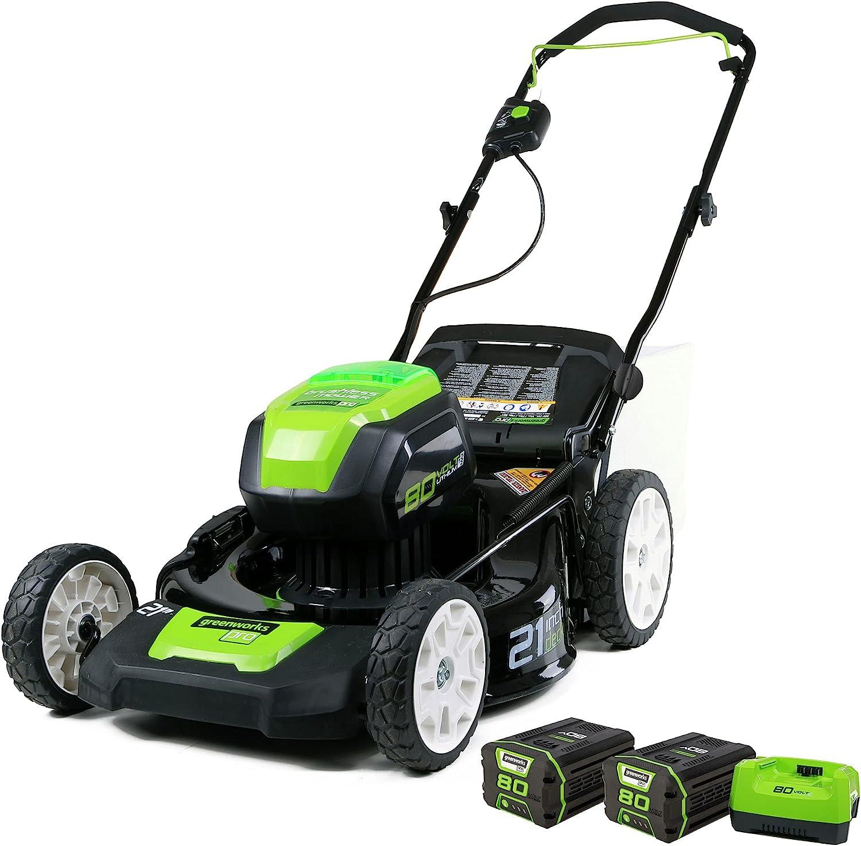 Greenworks Pro 80V 21 inch Cordless Push Lawn Mower Amazon's Choice