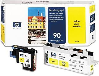HP 90 - Tête d'impression avec nettoyeur - 1 x jaune