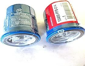 2 Pack Genuine Honda 15400-PFB-014 Oil Filter OEM