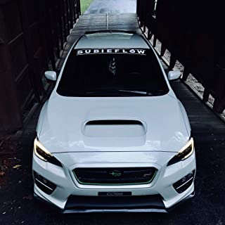 Gy Vinyl Arts,Subieflow,Windshield, Banners, Windshield, Decals,Car, Stickers, Compatible, ej20,BRZ,Impreza,WRX,Legacy,Forester,Crosstrek,Outback,Ascent (Other(Leave a msg))