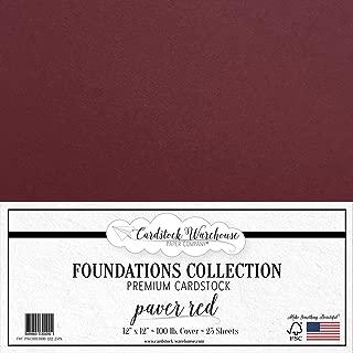 Best burgundy cardstock 12x12 Reviews