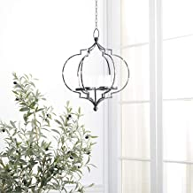 Deco 79 Candle Chandeliers, Deco 79, Black, Clear, Medium