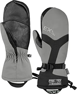 EXski Waterproof Ski Mittens Winter Warm Windproof Gloves for Cold Weather Snowboard Snowmobile
