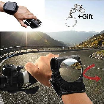 Dasorende Good Hand Cycling Wrist Mirror Rear View Rearview Safety Bike rm Back Mirror WEST BIKING Bicycle Rear Reflector Wrist Mirror