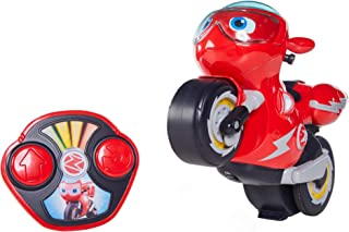 Ricky Zoom Remote Control Turbo Trick Ricky – Remote Control Motorcycle Races, Performs Wheelies & 360 Degree Stunt Spins,...