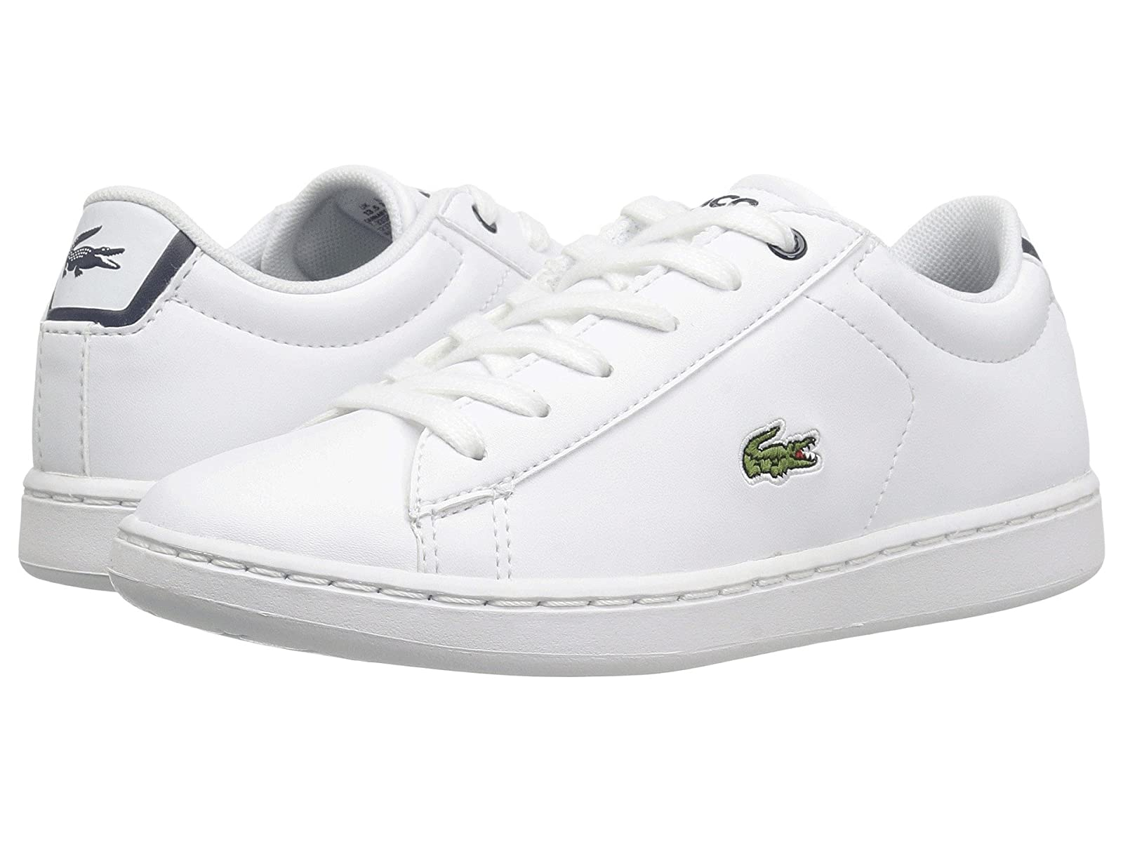 Lacoste Kids Carnaby Evo (Little Kid)Atmospheric grades have affordable shoes