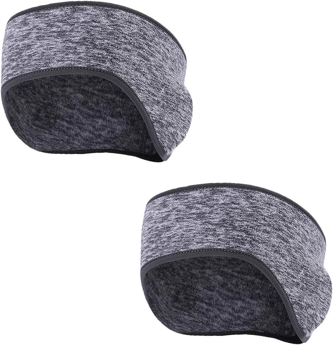 TAGVO Winter Fleece Warm Headband, Ear Warmer Fit for Men Women Outdoors Sports